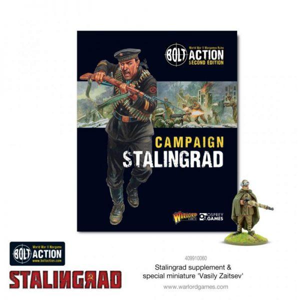 Warlord Games Bolt Action  Soviet Union (BA) Bolt Action: Stalingrad Supplement - 401010016 - 9781472839046