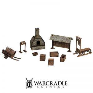 Warcradle Scenics   SALE! Gloomburg - Scatter Terrain - WSA840030 - 5060504869492