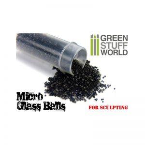 Green Stuff World   Modelling Extras Mixed Micro Glass Balls (0.5-1.5mm) - 8436554362851ES - 8436554362851