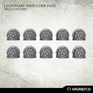 Kromlech   Legionary Conversion Parts Legionary Shoulder Pads: Skulls Pattern (10) - KRCB224 - 5902216117310