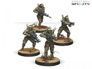 Corvus Belli Infinity  Haqqislam Sekban, Special Naval Unit - 280465-0455 - 2804650004559