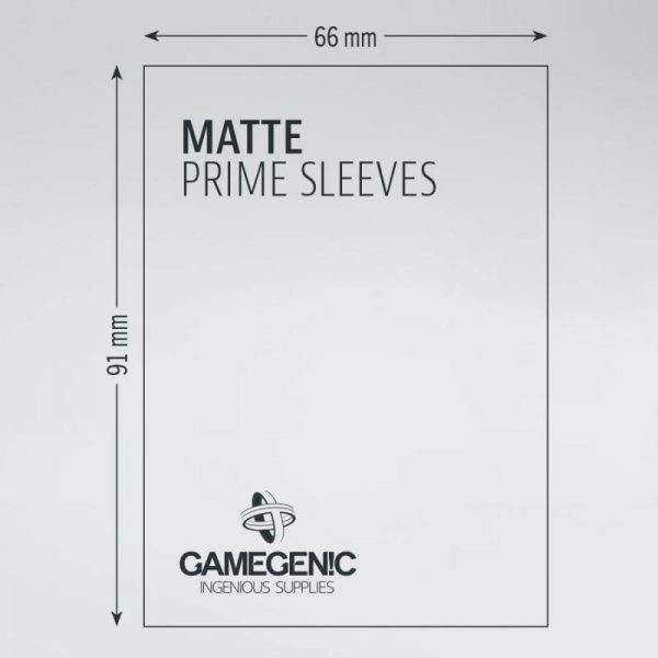 Gamegenic   SALE! Gamegenic Matte Prime Sleeves Yellow (100 pack) - GGS11032ML - 4251715402474