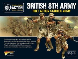 Warlord Games Bolt Action  Great Britain (BA) 8th Army starter army - 402611001 - 5060572500969