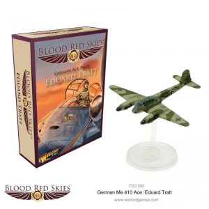 Warlord Games Blood Red Skies  Blood Red Skies Blood Red Skies: Me 410 Ace Eduard Tratt - 772211003 - 5060572502734
