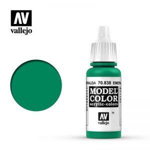 Vallejo   Model Colour Model Color: Emerald - VAL838 - 8429551708388