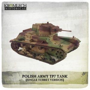 Kromlech   Kromlech Historical Polish Army 7TP tank - KHWW2013 - 5902216118119