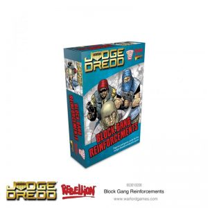 Warlord Games Judge Dredd  SALE! Judge Dredd: Block Gang Reinforcements - 653010206 - 5060572505247