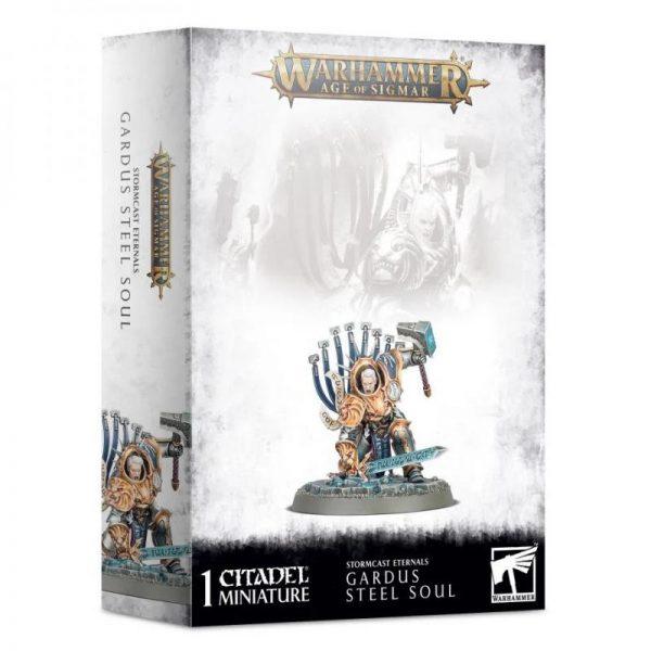 Games Workshop (Direct) Age of Sigmar  Stormcast Eternals Stormcast Eternals Gardus Steel Soul - 99120218048 - 5011921139002