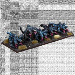 Mantic Kings of War  Nightstalkers Nightstalker Shadowhounds Regiment - MGKWNS305 - 5060469665108