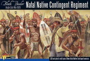 Warlord Games Black Powder  Anglo-Zulu War Anglo Zulu War Natal Native Contingent Regiment - 302014602 - 5060393706489