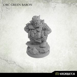 Kromlech   Orc Model Kits Orc Green Baron (1) - KRM125 - 5902216115255