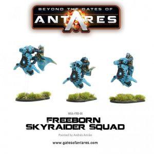 Warlord Games Beyond the Gates of Antares  SALE! Freeborn Sky Raider Squad - WGA-FRB-06 - 5060393702320