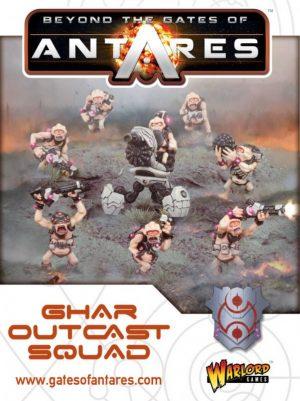 Warlord Games Beyond the Gates of Antares  SALE! Ghar Outcast Squad - WGA-GAR-04 - 5060393702894