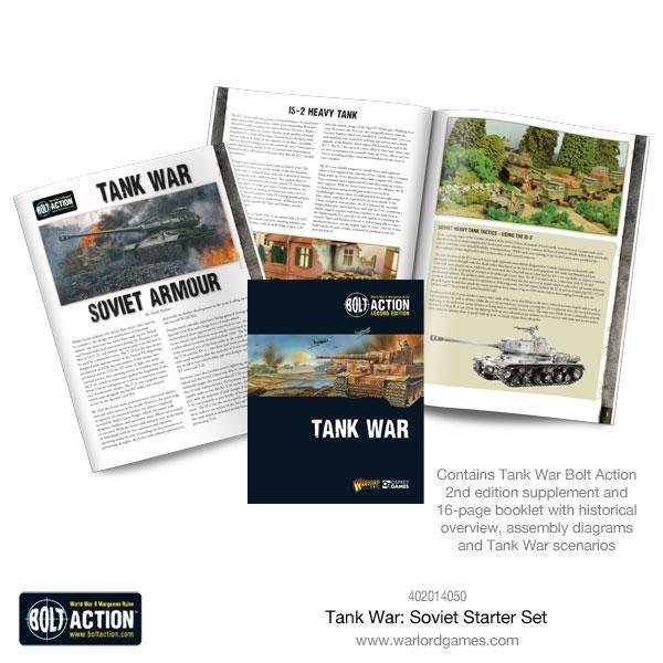Warlord Games Bolt Action  Soviet Union (BA) Tank War: Soviet starter set - 409914050 - 5060393707790