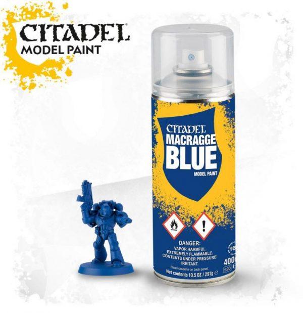 Games Workshop   Spray Paint GW Spray: Macragge Blue - 99209999069 - 5011921154517