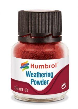 Humbrol   Weathering Powders Weathering Powder 28ml- Iron Oxide - AV0006 - 5010279700070