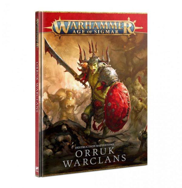 Games Workshop Age of Sigmar  Orruk Warclans Battletome: Orruk Warclans - 60030209012 - 9781839064654