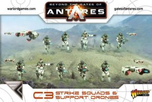 Warlord Games Beyond the Gates of Antares  SALE! Concord Strike Squad (Plastic) - WGA-CON-16 - 5060393703051