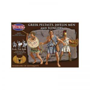 Victrix   Victrix Greek Peltasts and Slingers - VXA006 -