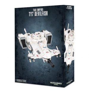 Games Workshop Warhammer 40,000  T'au Empire T'au Empire TY7 Devilfish - 99120113043 - 5011921065004
