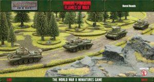Gale Force Nine   Battlefield in a Box Flames of War: Rural Roads (6 x 1ft roads) - BB117 - 9420020215276