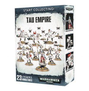 Games Workshop Warhammer 40,000  T'au Empire Start Collecting! T'au Empire - 99120113055 - 5011921088522