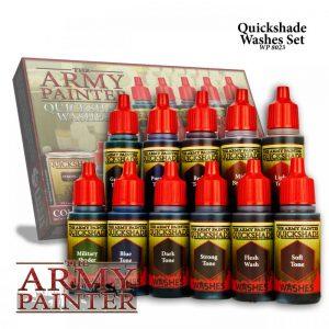 The Army Painter   Paint Sets Warpaints Quickshade Washes Paint Set - APWP8023 - 5713799802308