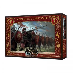 Cool Mini or Not A Song of Ice and Fire  House Lannister A Song of Ice and Fire: Lannister Guards - CMNSIF201 - 889696007780