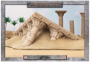 Gale Force Nine   Battlefield in a Box Forgotten City - Lost Temple - BB901 - 9420020217966