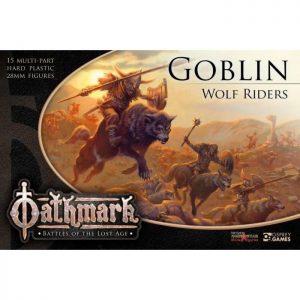 North Star Oathmark  Oathmark Oathmark Goblin Wolf Riders - OAKP202 - 9781472897459