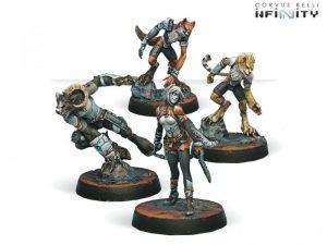 Corvus Belli Infinity  Nomads Bakunin Uberfallkommando - 280546-0293 - 2805460002933