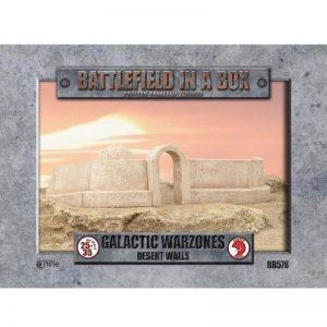 Gale Force Nine   Battlefield in a Box Galactic Warzones: Desert Walls - BB581 - 9420020239890