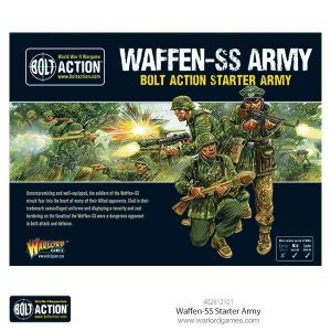 Warlord Games Bolt Action  Germany (BA) Waffen SS Starter Army - 402612101 - 5060393709985
