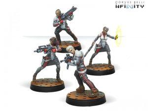 Corvus Belli Infinity  Nomads Moderators from Bakunin - 280584-0633 - 2805840006339