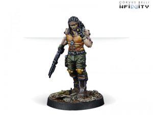 Corvus Belli Infinity  Non-Aligned Armies - NA2 Joe Scarface Turner, Mercenary TAG Pilot - 280725-0666 - 2807250006664