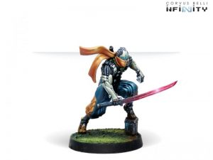Corvus Belli Infinity  Non-Aligned Armies - NA2 Saito Togan, Mercenary Ninja (Combi Rifle) - 280738-0778 - 2807380007784