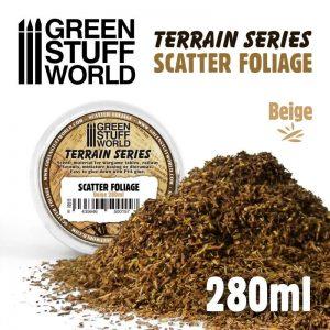 Green Stuff World   Lichen & Foliage Scatter Foliage - Beige - 280ml - 8435646500157ES - 8435646500157