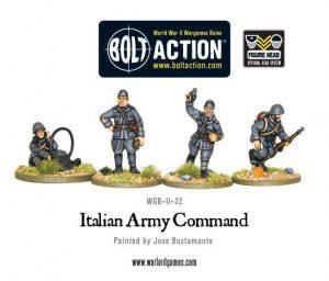 Warlord Games Bolt Action  Italy (BA) Italian Army HQ - WGB-II-22 - 5060200849545