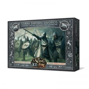 Cool Mini or Not A Song of Ice and Fire  House Stark A Song of Ice and Fire: Stark Sworn Swords - CMNSIF101 - 889696005564