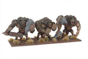 Mantic Kings of War  Orcs Troll Regiment - MGKWO19-1 - 5060208865097