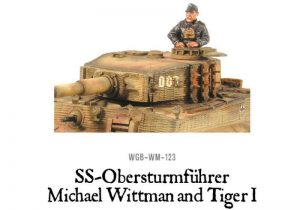 Warlord Games Bolt Action  Germany (BA) Wittman's Tiger - WGB-WM-123 -
