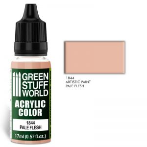 Green Stuff World   Acrylic Paints Acrylic Color PALE FLESH - 8436574502039ES - 8436574502039
