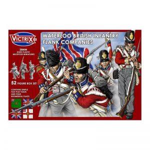 Victrix   Victrix Waterloo British Infantry Flank Company - VX0003 -