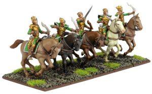Mantic Kings of War  Elf Armies Elf Silverbreeze Cavalry Troop - MGKWE104 - 5060208869552