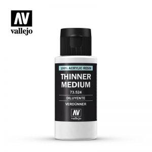 Vallejo   Vallejo Extras AV Medium - Thinner 60ml - VAL73524 - 8429551735247