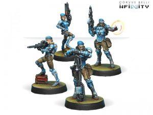 Corvus Belli Infinity  PanOceania Fusiliers (box of 4) - 280274-0492 - 2802740004922