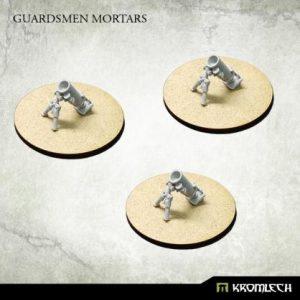 Kromlech   Misc / Weapons Conversion Parts Guardsmen Mortars (3) - KRM138 - 5902216116856