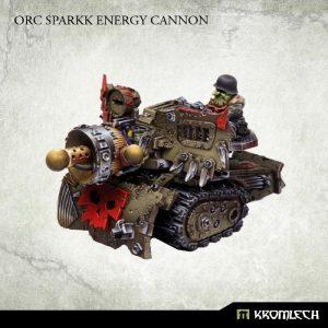 Kromlech   Misc / Weapons Conversion Parts Orc Sparkk Energy Cannon (1) - KRM085 - 5902216113367