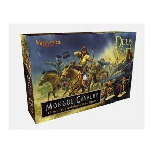 Fireforge Games   Medieval Era Mongol Cavalry Plastic Box Set - FF009 - 2621880005718