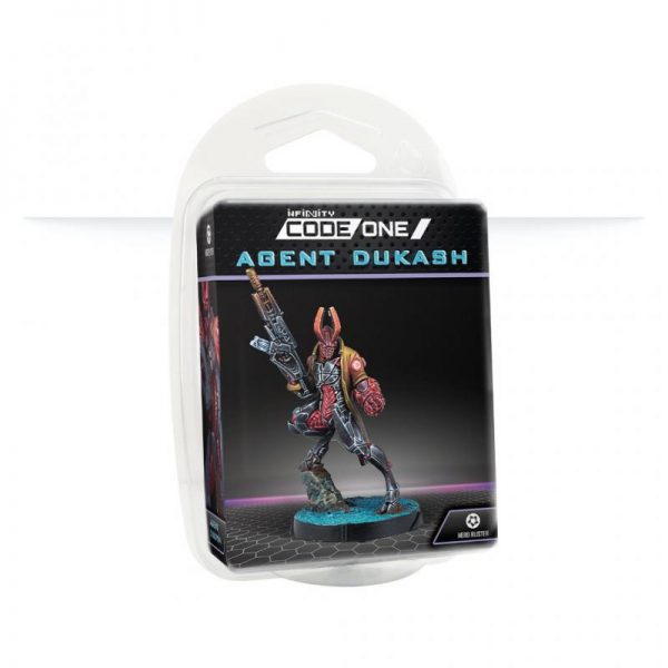 Corvus Belli Infinity  Combined Army Combined Army Agent Dukash (MULTI Rifle) - 281610-0873 - 2816100008734